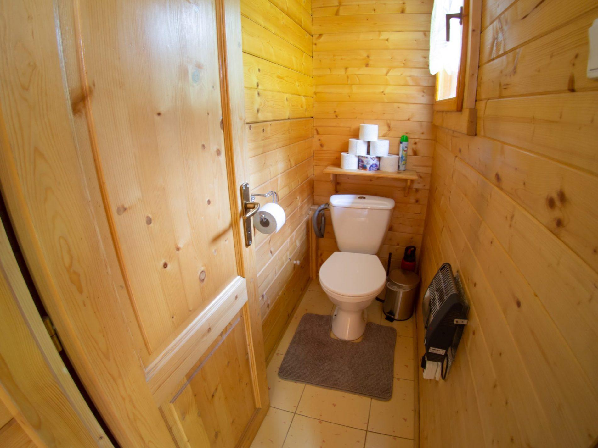 Ubytovanie Chaty Drevenice Oščadnica - toaleta